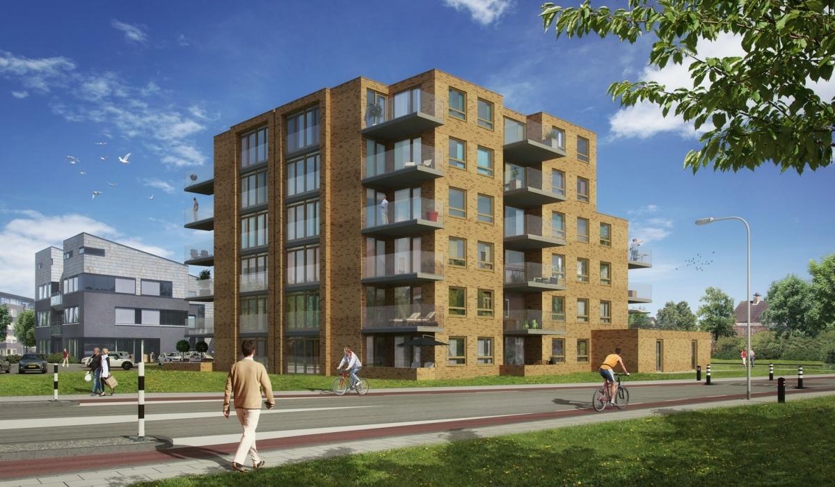 Nieuwbouw appartementencomplex Hazehorst