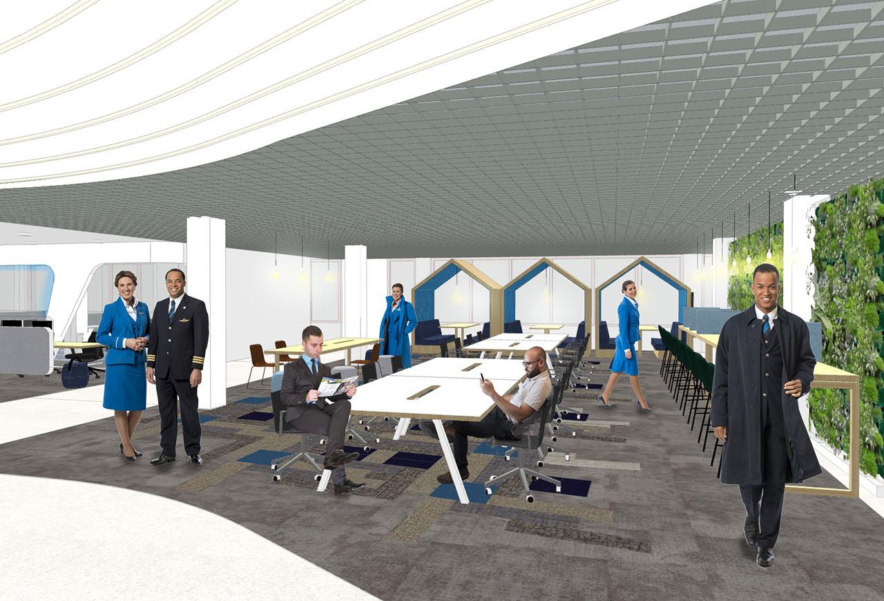 Revitalisering KLM Bemanningscentrum Schiphol